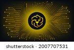 unus sed leo cryptocurrency...   Shutterstock .eps vector #2007707531
