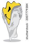 urban abstract greek statue... | Shutterstock .eps vector #2007779384