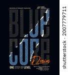 blue core denim  modern and...   Shutterstock .eps vector #2007779711
