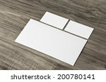 blank corporate identity... | Shutterstock . vector #200780141