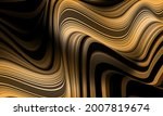 abstract gold grey black line...   Shutterstock .eps vector #2007819674