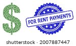 for rent payments grunge stamp... | Shutterstock .eps vector #2007887447