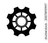 simple gears icon.gear wheel...   Shutterstock .eps vector #2007895997