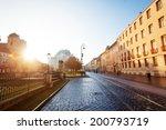 sunny day on hlavna street in...   Shutterstock . vector #200793719