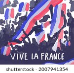 Long Live France In French Text ...