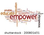 empower concept word cloud... | Shutterstock . vector #200801651
