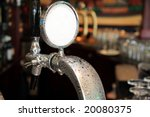 Draft Beer Tap Covered In...