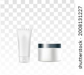 mock up realistic glossy white... | Shutterstock .eps vector #2008131227