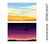 sky scene with clouds drifting...   Shutterstock .eps vector #2008218467