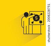 people presenting money on...   Shutterstock .eps vector #2008228751