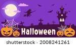 banner for halloween with a... | Shutterstock .eps vector #2008241261