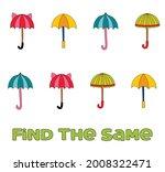 kids activity. find the same...   Shutterstock .eps vector #2008322471