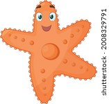 the image of a cute starfish.... | Shutterstock .eps vector #2008329791