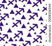 seamless pattern of blue... | Shutterstock .eps vector #2008336544