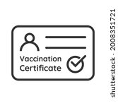 covid 19 vaccination... | Shutterstock .eps vector #2008351721