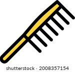 comb with white background....   Shutterstock .eps vector #2008357154