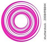 geometric spiral  swirl  twirl... | Shutterstock .eps vector #2008498844