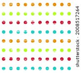 Polka Dots Multicolored In A...