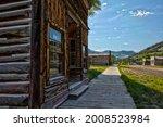 Main Street Of Bannack  Montana ...