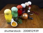 easter egg dyes made from...