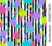 graffiti seamless pattern....   Shutterstock .eps vector #2008574654