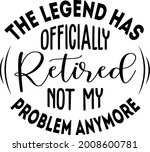 the legend has officially... | Shutterstock .eps vector #2008600781
