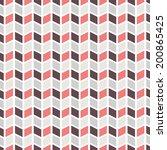 geometric pattern  tiling .... | Shutterstock .eps vector #200865425