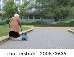 Old Age   No Joy. Old Woman...