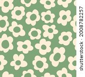 seamless pattern with vintage... | Shutterstock .eps vector #2008782257
