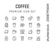 premium pack of coffee line...