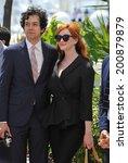 ������, ������: Christina Hendricks & husband