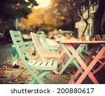 pastel coffee shop | Shutterstock . vector #200880617