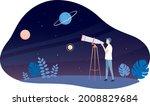 astronomy vector illustration....   Shutterstock .eps vector #2008829684