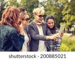 summer  internet  social... | Shutterstock . vector #200885021