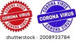 round and rosette corona virus...   Shutterstock .eps vector #2008933784