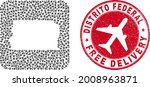 vector collage brazil distrito... | Shutterstock .eps vector #2008963871