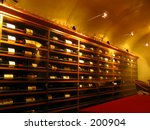 Winecellar - stock photo