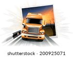 truck   Shutterstock .eps vector #200925071