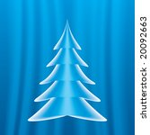 abstract christmas tree | Shutterstock .eps vector #20092663