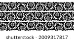 seamless black and white... | Shutterstock .eps vector #2009317817