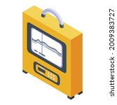 echo sounder device icon....