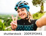The Beautiful Cyclist Takes A...