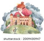 An Illustration Of A Fairytale...
