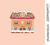 christmas gingerbread house....