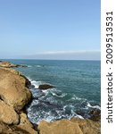 Coastline View Showing Water...
