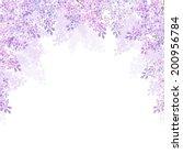 Background With Lilac Flowers....