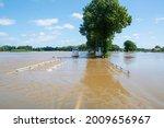 Flooded Dutch Polder Area Next...