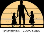 dad best girl ever daddy of two ... | Shutterstock .eps vector #2009756807