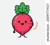 vector illustration of red... | Shutterstock .eps vector #2009777417
