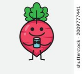 vector illustration of red... | Shutterstock .eps vector #2009777441